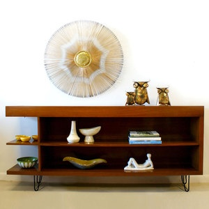 Mid-Century Modern Bookcase now featured on Fab.  reminds me of when I was a kid :)