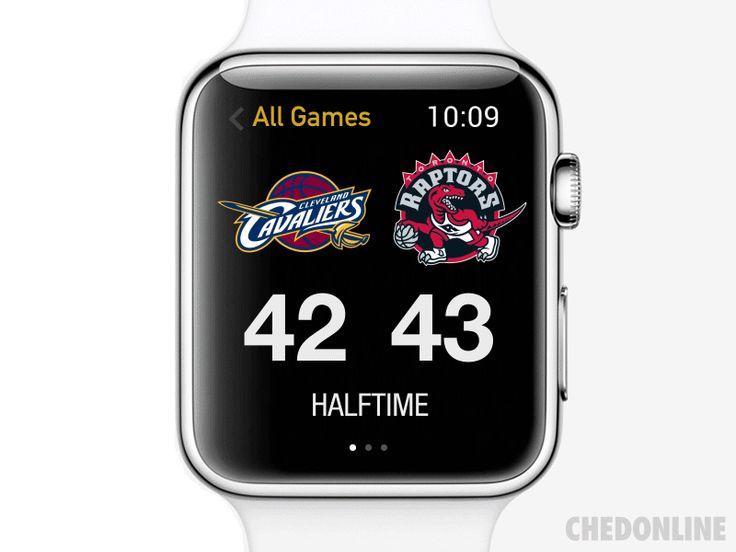 Apple Watch NBA App