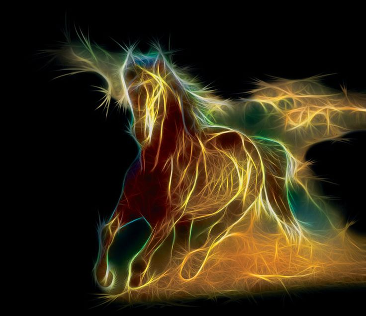 Horse Fractal by Terrazzo on deviantART | Fractal Zoo ...