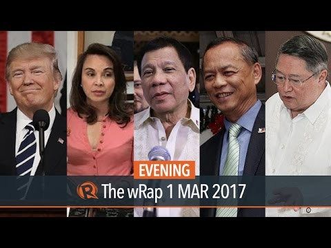 Paris agreement, jeepney, mining | Evening wRap - WATCH VIDEO HERE -> http://dutertenewstoday.com/paris-agreement-jeepney-mining-evening-wrap/   Today on Rappler:  President Rodrigo Duterte agreed to sign the Paris climate deal after being assured that the ambitious contribution submitted by the Philippines to the United Nations can still be revised. President Rodrigo Duterte will meet with jeepney drivers and operators who went on...