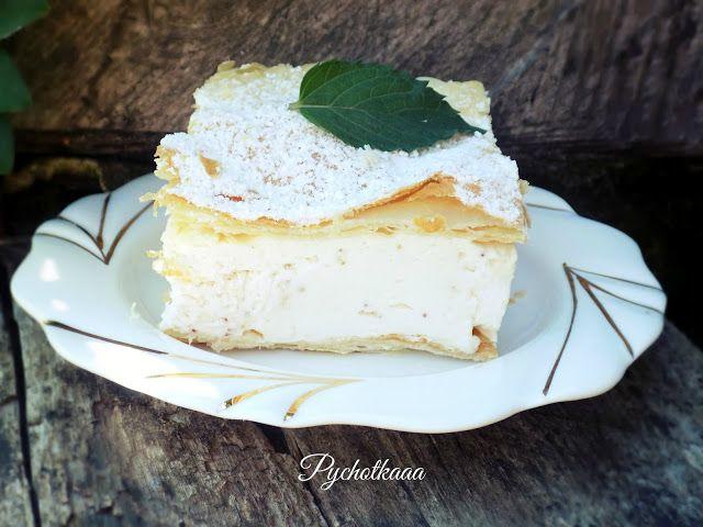 Ciasto francuskie z kremem truskawkowym wg siostry Anastazji | Pychotkaaa