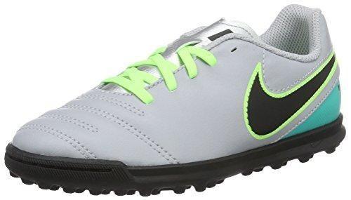 Oferta: 53.8€ Dto: -55%. Comprar Ofertas de Nike JR Tiempox Rio Iii TF, Botas de Fútbol para Niños, Gris (Wolf Grey / Black-Clear Jade), 33 1/2 EU barato. ¡Mira las ofertas!