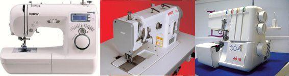 Reparación máquinas de coser en Madrid. Asistecnic. Soluciones y servicios para máquinas de coser domésticas e industriales.