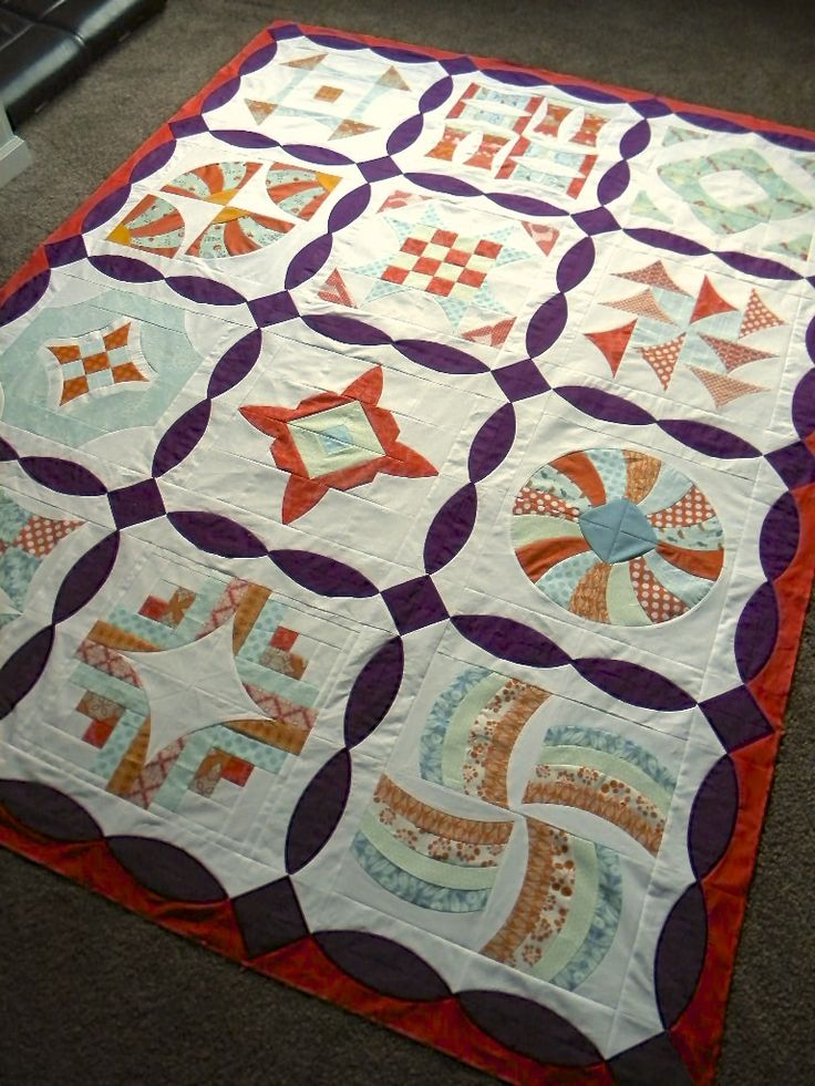 386 best QUILTS: Circles and Curved Lines images on Pinterest ... : curved quilt blocks - Adamdwight.com