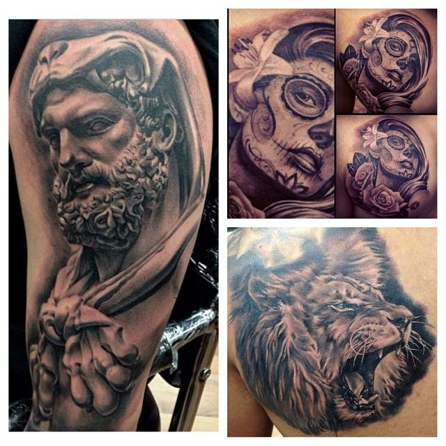 17 best images about tattoo on pinterest tiger tattoo for Fred flores tattoo