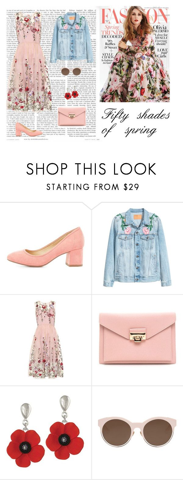 """""""Fifty shades of pink"""" by dorey on Polyvore featuring City Classified and Christian Dior"""