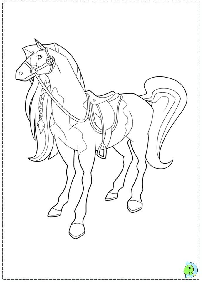 awesome horseland coloring page dinokids best resolution httpwwwcoloringoutline - Horseland Coloring Pages Sunburst