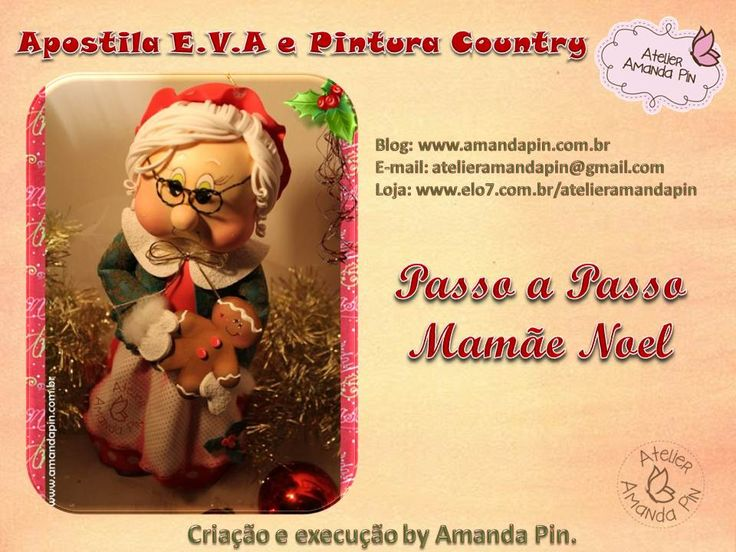 Mama Noel - Amanda Pin (moldes)
