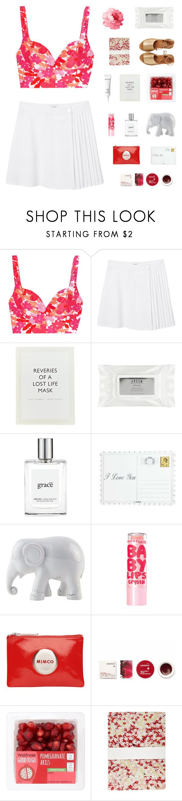 """""""CALL ME OUT // SARAH CLOSE"""" by janettetang ❤ liked on Polyvore featuring Michael Kors, Monki, Elizabeth Arden, ...Lost, Stila, philosophy, Asprey, The Elephant Family, Maybelline and Mimco"""