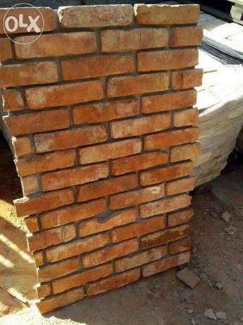 Cegła na Ściane , lico z cegły rozbiórkowej , cegła dekoracyjna Płock - image 1