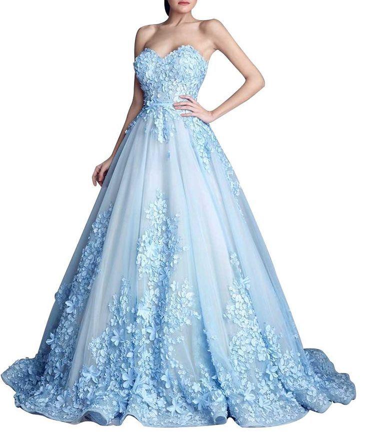 Pale blue dress size 8 chart