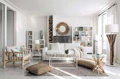 Ambiance élégante, moderne et épurée pour le design de cette belle demeure côtière
