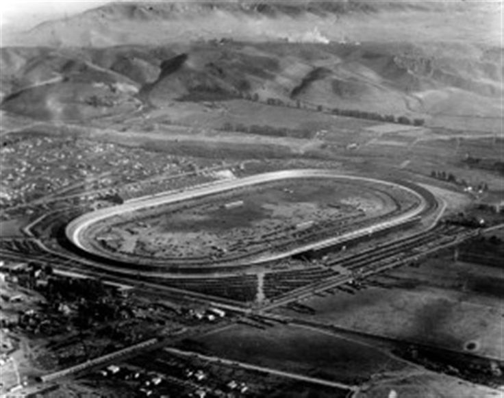 Culver City racing track at Lincoln & Washington boulevards - Culver City Historical Society