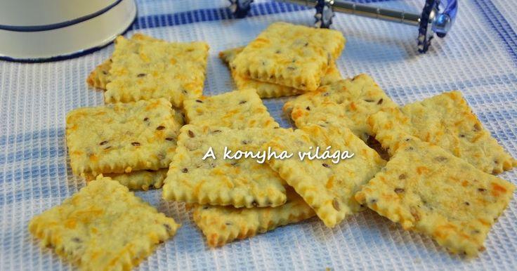 Gyorsan elkészíthető, ropogós keksz kevés hozzávalóval.     Hozzávalók:   25dkg liszt   10dkg vaj   1tk   cukor   1tk   só   1tk  ...