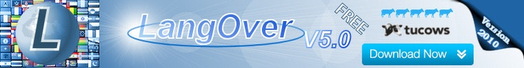 LangOver 5.0 - is a freeware that helps to change language or change keyboard language when you forgot ALT+SHIFT.