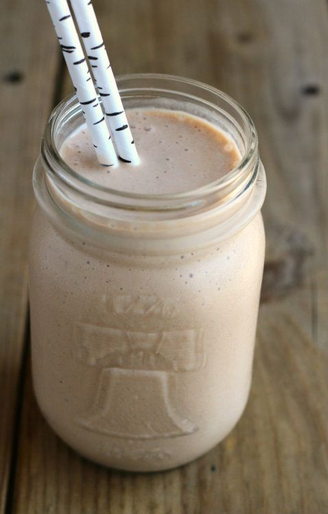 Peanut Butter Chocolate Banana Milkshake {giveaway!}