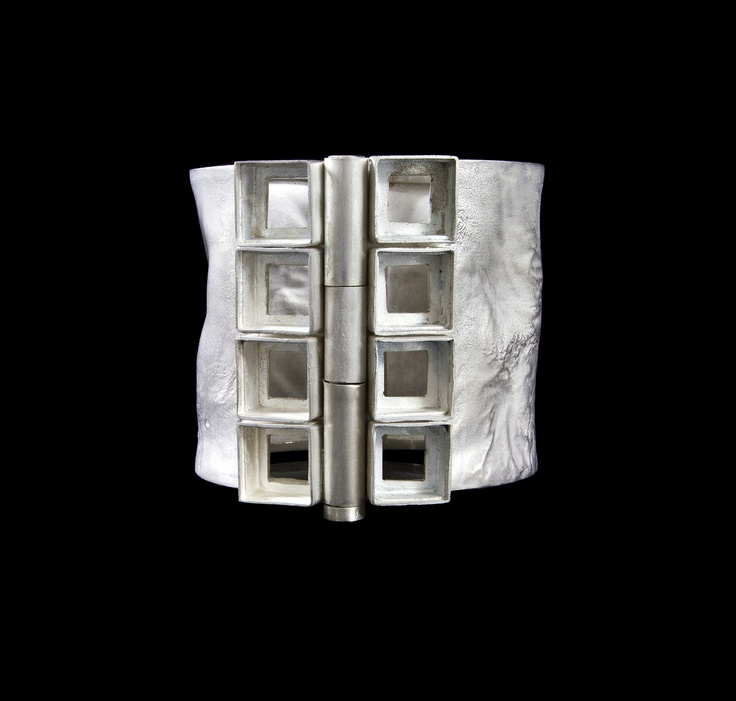 Bracelet by Horsecka Jewelry. Sterling silver.
