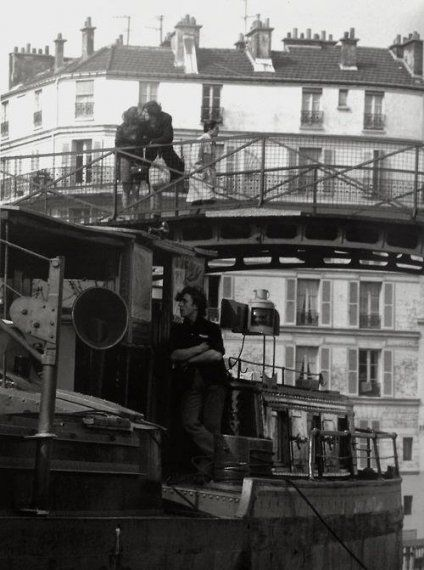 Quai de Jemmapes Paris 1970 (Robert Doisneau)