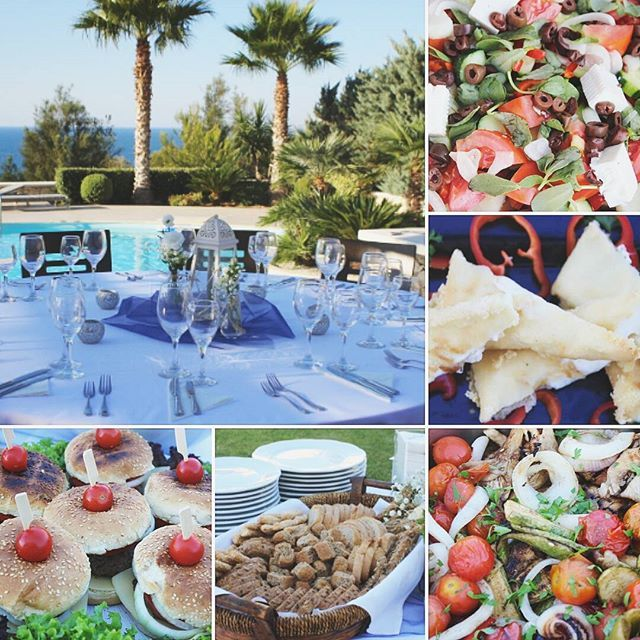 Private Villa Party - Family reunion from Norway- www.royalblueevents.gr