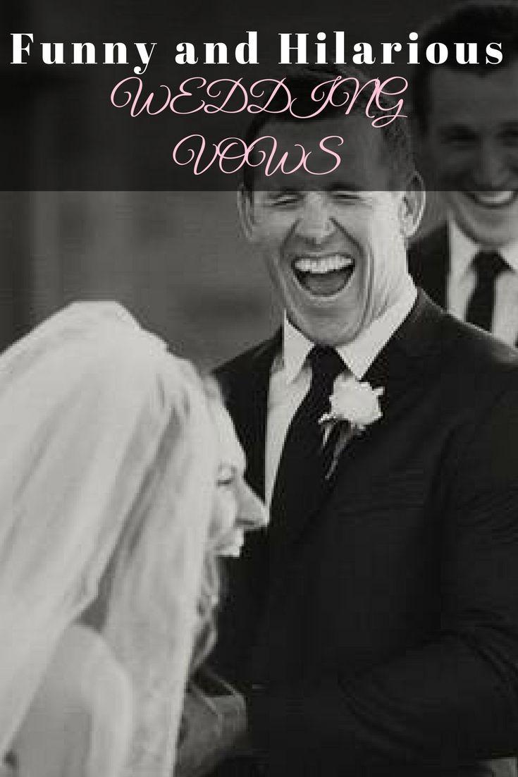 Funny wedding vows your dream wedding pinterest weddings