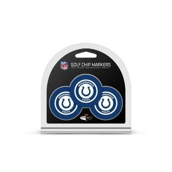 Indianapolis Colts Golf Chip with Marker 3 Pack