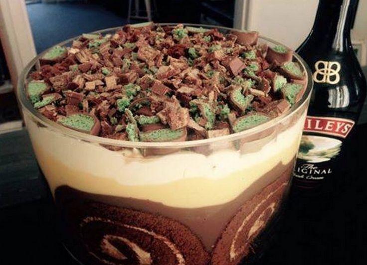 Deb's Baileys and Chocolate Trifle