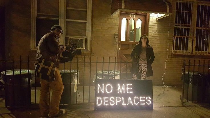 This Group Decorated Bushwick With Anti-Gentrification Holiday Lights