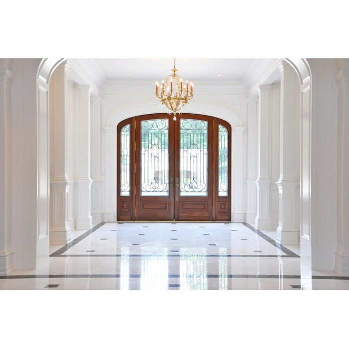 Hardwood wrought iron entryway doors by chautauqua woods fine doors entryways hardwood doors handcrafted in the usa to your design by artisans