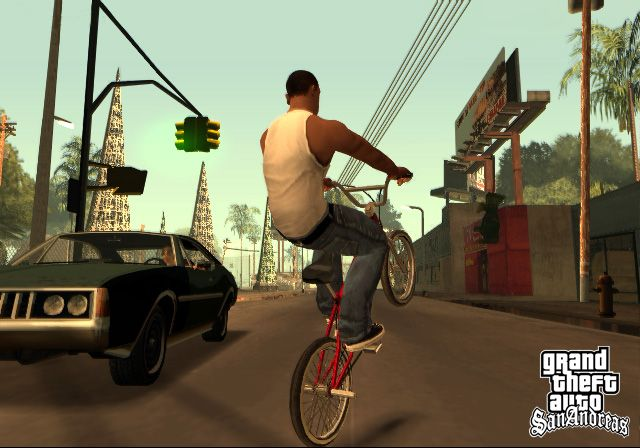 Grand Theft Auto: San Andreas Video Game Screenshot