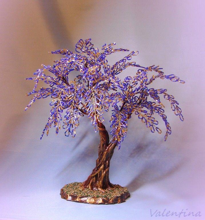 Новые деревья из бисера картинки и фото