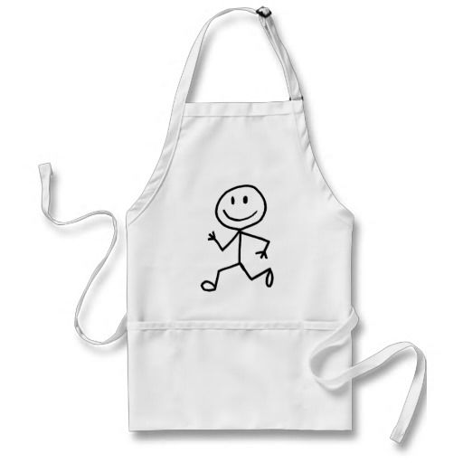 Stickman Runner Apron