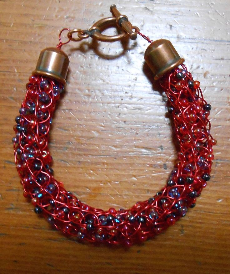 French Knitting With Beads : Best french knitter images on pinterest spool