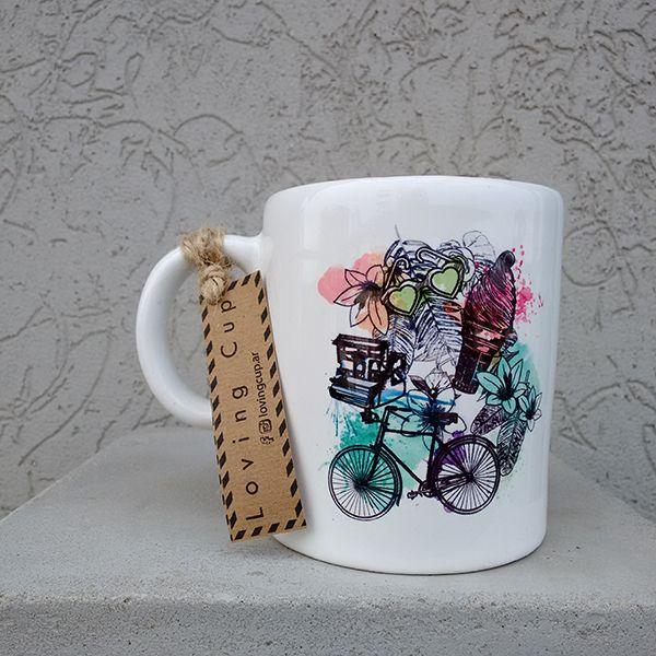 "Taza de cerámica ""Summer Time"""