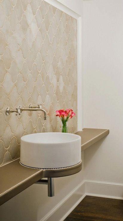 Moroccan tile & counter space!