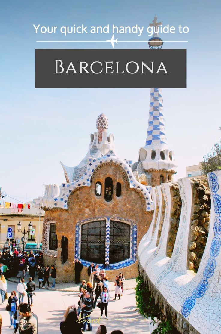 A Quick and Handy Guide to Barcelona http://finelinedrivingacademy.co.uk