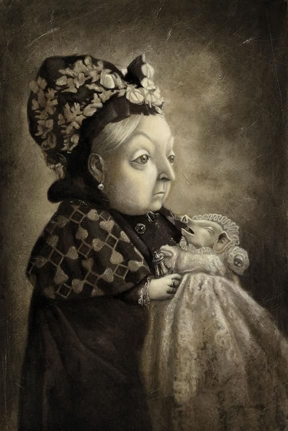 Benjamin Lacombe - Illustration - Alice au pays des merveilles