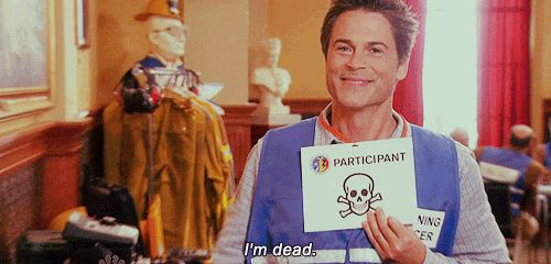 """When he was the happiest dead person alive: 