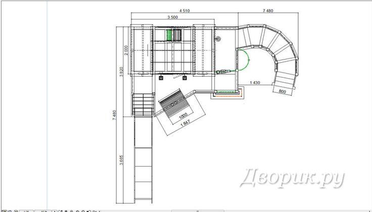Детский игровой комплекс (мод.21116) | Дворик.ру