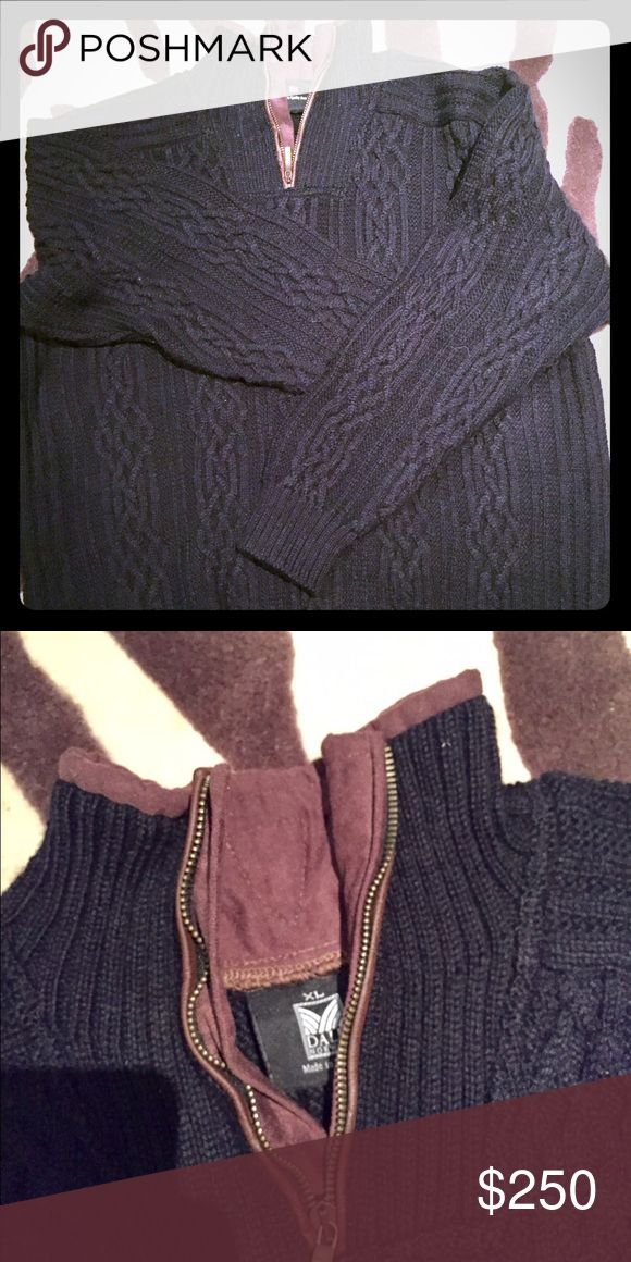 Men's Dale Norway sweater Never worn.  Mint condition.  Never even washed.  Beautiful , amazing quality sweater.  It's pretty Heavy because it's a high quality Dale Norway sweater.    Gorgeous neckline . Overall a beautiful sweater.  The pictures don't do justice at all . DALE Norway Sweaters