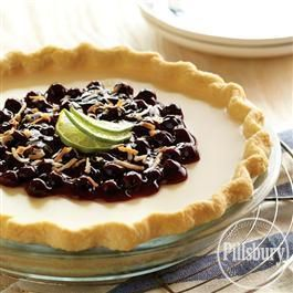 Sub-Lime Blueberry Coconut Truffle Pie von Pillsbury® Baking ist ein perfekter …