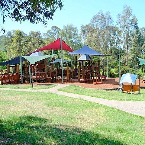 Grinstead Park in Enoggera | Massive fort playground - Brisbane Kids