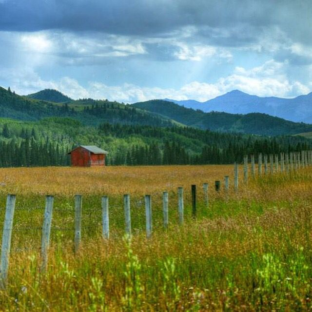 Road Trip Route: Cowboy Trail, Alberta The Old West can be found here. Along the way you're likely to see cowboys herding cattle. Expect to be overwhelmed by the rugged mountain scenery and the pristine wilderness! (For more information: http://bit.ly/2dIHeuc) (Photo: Chris Wulff)