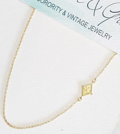 Pi Beta Phi crest necklace #piphi #pibetaphi