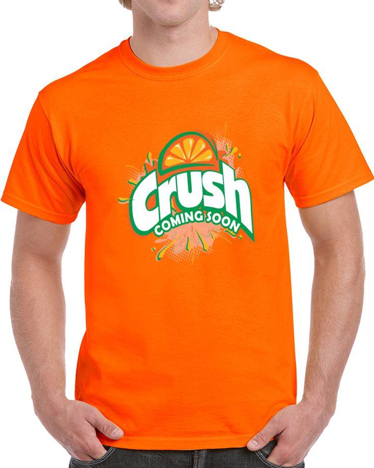 Orange Crush Coming Soon Logo  T Shirt