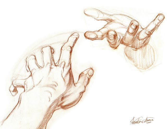 Chester Chien: Gestures of the Hand in Foreshortening
