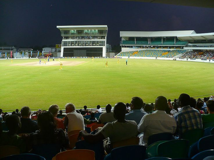 Night cricket at Kensington Oval, Barbados