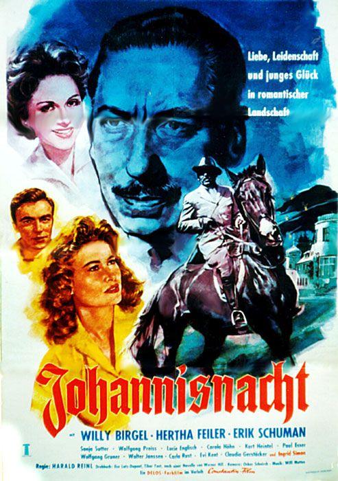 Poster zum Film. Johannisnacht. 1956