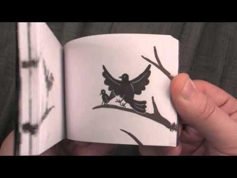 Black Bird Custom Flipbook by Ben Zurawski, The Flippist