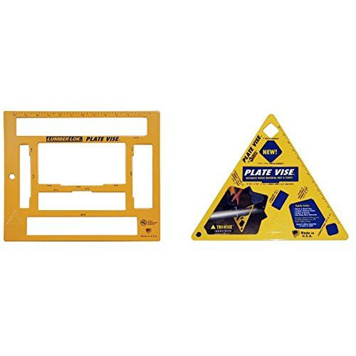 "Tri-Vise Industries PVL001 4"" Steel Plate Vise, LLL-001 LumberLok Plate Vise Tri-Vise"