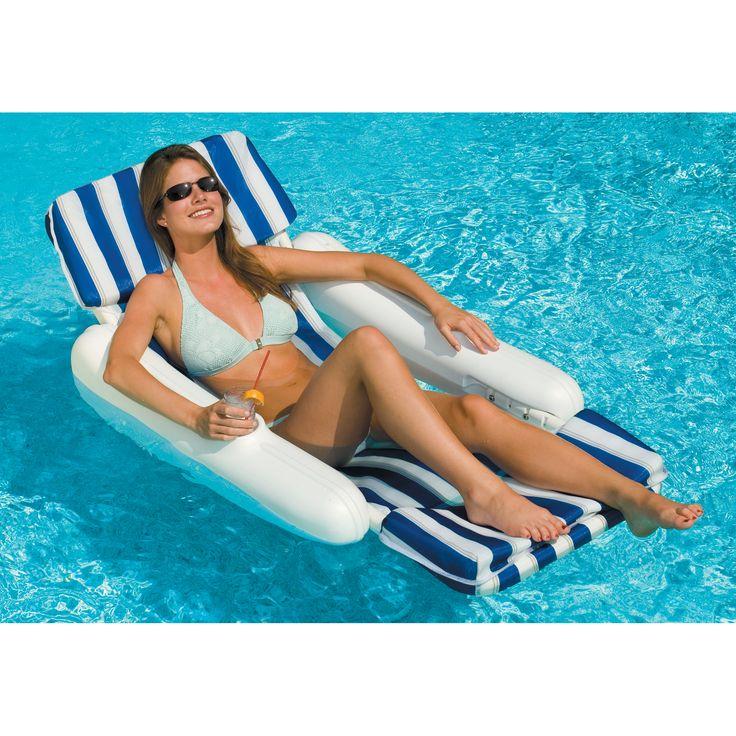 Swimline SunChaser Padded Luxury Lounge Chair - Overton's